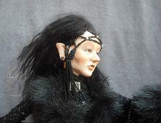 OOaK Polymer Clay Faery Art Doll Fairy Sculpture Oddfae by oddfae, $500.00