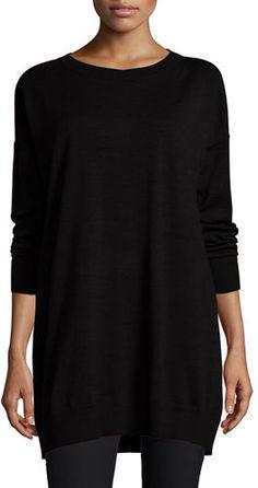 Eileen Fisher Merino Jersey Icon Tunic
