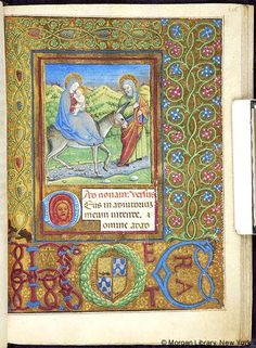 Book of Hours, MS M.454 fol. 207r - Images from Medieval and Renaissance Manuscripts - The Morgan Library & Museum