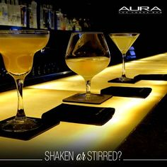 Both are excellent decisions when you're at #Aura, the Vodka Bar at The Claridges New Delhi.