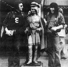 John Lennon and Jesse Ed Davis