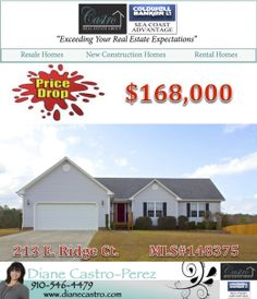 PRICE DROP! This cozy 3 bedroom/2 bath home is move in ready!! Call today for your personal showing! #kantonridge #buyers #cbsca #realestatelife #jacksonvillenchomes #dianecastroperez