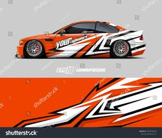 Find Race Car Wrap Decal Designs Abstract stock images in HD and millions of other royalty-free stock photos, illustrations and vectors in the Shutterstock collection. Car Decals, Vinyl Decals, Drift Trike, Drifting Cars, Cool Stickers, Car Wrap, Car Photos, Art Cars, Used Cars