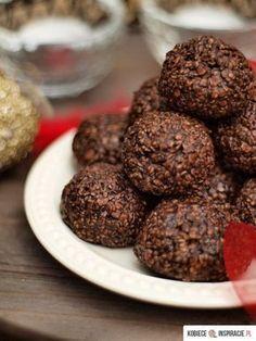 Ciastka owsiane - bez pieczenia Sugar Free Recipes, Raw Food Recipes, Cookie Recipes, Healthy Cake, Healthy Sweets, Banana Pudding Recipes, Good Food, Yummy Food, Recipes From Heaven