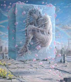 Natural Cannabis Company (@natural.cannabis.company) • Instagram photos and videos Pies Art, Lowbrow Art, Wow Art, Pop Surrealism, Surreal Art, Medium Art, Contemporary Paintings, Art Google, Landscape Art