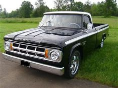 1968 Dodge D100 pickup truck owned by Darryl Becker