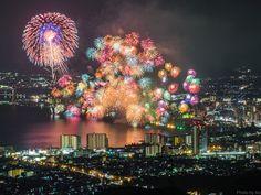 (21) Twitter 上的 #琵琶湖花火大会 推標