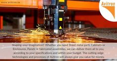 sheet metal fabrication unit that offers Quality Services and Products. We offer a wide range of products made to our buyers' specifications from a diverse array of industries. Our incredible team of skilled employees and talented sheet metal designers will come together to deliver custom-made, high-quality sheet metal products. We stock all industry standard grades and sizes of Mild Steel, Stainless steel, GI and Aluminium sheets. Email : info@avitron.in Visit :  http://www.avitron.in/