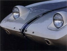 Retractable headlights made aerodynamics and design sense. The car had a clean nose during daylight hours, which added to its visual appeal. Mustang Engine, Ford Mustang, Futuristic Cars, Us Cars, Car Ford, Concept Cars, Custom Cars, Cars And Motorcycles