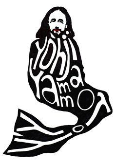 Yohji Yamamoto wearing Yohji Yamamoto.    #yohjiyamamoto #yamamoto #art #fashion #illustration #graphic #sketch #drawing #hubertkolodziejski #kolodziejski #dark #inspiration #black #shade #asvoff #commedesgarcons #reikawakubo #creepy #funny #poland #typography #doverstreetmarket