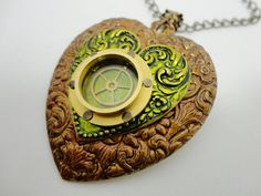 How does a porthole become romantic?  Here's how: http://www.etsy.com/listing/92071635/steampunk-heart-necklace-with-porthole?ref=pr_shop   from Brassy Steamington
