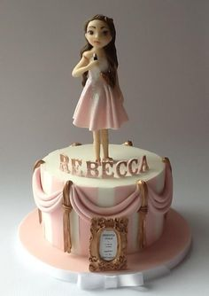Starring Rebecca in the hit musical 'Happy 11th Birthday ! ' - Cake by cakesdamour