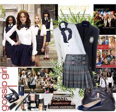 """Gossip Girl"" by shaneeeee ❤ liked on Polyvore"