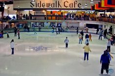 Looking for a fun thing to do inside on these cold days in the Mountains. How about ice skating?    Ice Skating    Skate year-round on Ober's huge indoor ice arena. The 140' X 75' indoor ice arena is the centerpiece of Ober Gatlinburg's enclosed Mall.