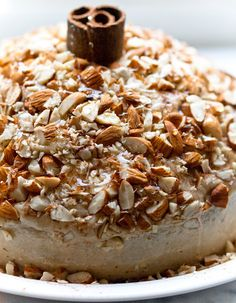 Mocha Latte Cake - vegan