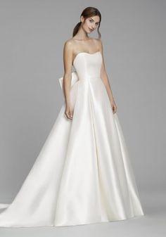 97e9d80bbf20 Lazaro Wedding Dress, Lazaro Bridal, Sweetheart Wedding Dress, Wedding  Dress Low Back,