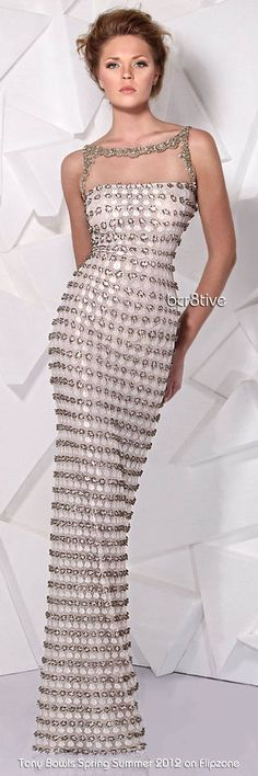Tony Ward Spring Summer 2012 Ready to Wear @josephine vogel