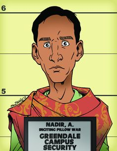 Abed Nadir Community Mugshot 4 by BenSteamroller