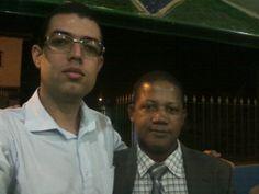 Pastor Germano, do Ministério Brasil Portugal para CRISTO, de Itambi, Itaboraí.