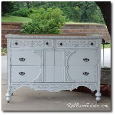 Country White And Soft Painted Furniture