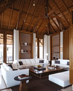 Brad Pitt Escaped to This Luxurious, Secluded Resort This Thanksgiving Style Tropical, Modern Tropical, Tropical Houses, Tropical House Design, Thai House, Cabana, Interior Architecture, Interior Design, Chinese Architecture
