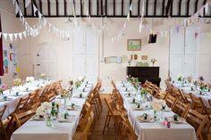 Amy & Jonathan's Cute, Vintage, Village Hall Wedding