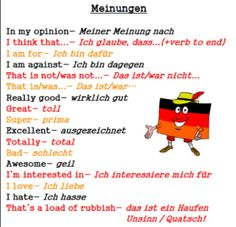 Selbstachtung learn english