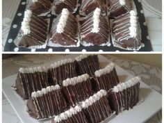 Mini Choc Pyramid Cakes recipe by Najiya posted on 21 Jan 2017 . Recipe has a rating of by 2 members and the recipe belongs in the Cakes recipes category Cake Recipes, Dessert Recipes, Desserts, Food Categories, Mini, Cocoa, Biscuits, Birthday Cake, Candy