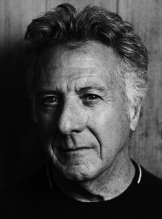 Dustin Hoffman, by Hedi Slimane, actor, male, photography, black and white, celeb, famous, brilliant