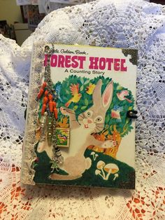 Little Golden Book Junk Journal, Forest Hotel.  hold for Tina