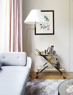 A bold townhouse by Suzy Hoodless, filled with Nordic colours and mid-century design Room London, Living Room Inspiration, Living Room Sofa, Mid Century Design, Contemporary Design, Furniture Design, Interior Design, House Styles, Suzy
