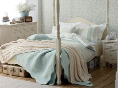 Duck egg blue bedroompainted furniture