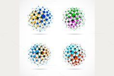 Chemical Spheres by Lonely on Creative Market