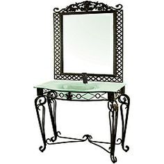 Brookside Traditional Bathroom Vanity Accessories For The Home - Wrought iron bathroom vanity stand