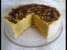 Tarta de panqueque  Video : como hacer esta deliciosa tarta, paso a paso, de la mano de Silvana