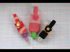 How to Crochet Hand Sanitizer Cozy Crochet Mask, Crochet Gifts, Diy Sanitisers, Hand Sanitizer Holder, Disinfecting Wipes, Chapstick Holder, Mini Bottles, Diy Mask, Crochet Accessories