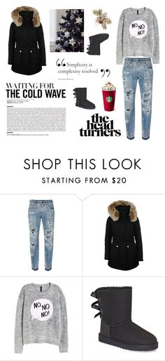"""""""Untitled #288"""" by elma-alibasic ❤ liked on Polyvore featuring Dolce&Gabbana, K100 Karrimor, H&M and UGG"""