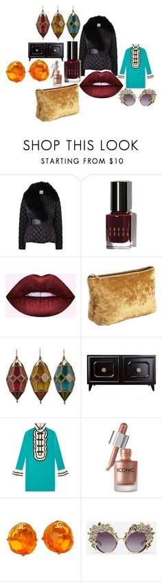 """""""New Fashion Concept"""" by badgirl89 ❤ liked on Polyvore featuring Moncler, Bobbi Brown Cosmetics, Gucci, Chanel and Dolce&Gabbana"""
