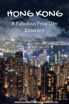 A fabulous four day Hong Kong itinerary that incorporates everything you need for a perfect city break - culture, history, and off-the-beaten-path adventures.