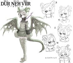 And A New House Mate's from the story Highschool DxD : Dovahkiin(remake) by with reads. Fantasy Character Design, Character Concept, Character Inspiration, Character Art, Fantasy Characters, Anime Characters, Skyrim Dragon, Monster Girl Encyclopedia, Female Monster