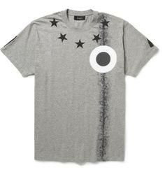 GivenchyOversized Printed Cotton-Jersey T-Shirt|MR PORTER