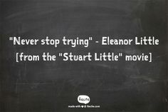 #StuartLittle #Quote