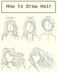 Breaking World News: How to Draw Hair