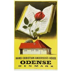 Aage Rasmussen - Odense - H. Odense Denmark, Famous Poems, Future Travel, Vintage Travel Posters, Europe, Finland, Norway, Books To Read, Fairy Tales