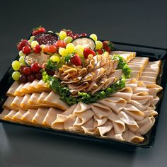 Meat and Cheese Tray Ideas | ... information on any of the Meat & Cheese Trays, click an image below