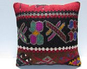 tribal pillow 18x18 turkish pillow covers throw pillow cases aztec cushion cover tribal cushion ethnic cushion cover boho pillow cover 29414