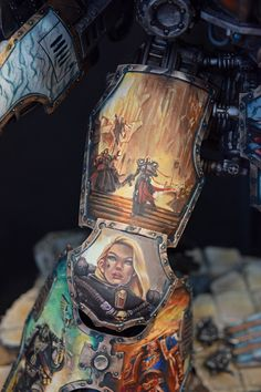 Hello everyone, I am back with another project, and it's a big one! A Warlord and Reaver, decked out in freehand and marble. This p...