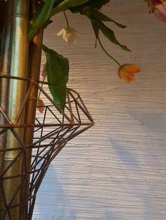 Wit decoratief stucwerk met golven   Creative Minds International
