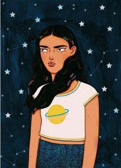 「女人用心打扮是為了自己!」插畫家筆下的都會女性,眉宇間像極此刻的自己 ‧ A Day Magazine
