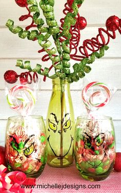 How To Create A Grinch Inspired Gift For Friends, Neighbors or Family